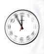 Leinwanddruck Bild - Die Zeit rast