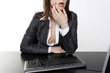 sexy sekretärin