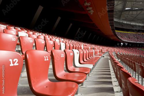 Empty Stadium Seats - 13034235