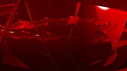Magma rouge