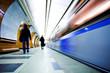 Fototapete Underground - Ubahn - Bahnhof