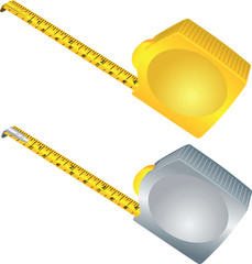 Silver and gold measure meter