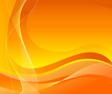 Fototapety Abstract orange background. Vector illustration