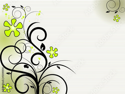 Floral image of spring