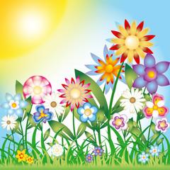 giardino di primavera