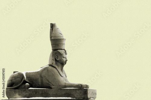 granite sphinx in Petersburg
