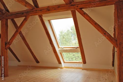 Fototapete Dachgeschoss Ausbau