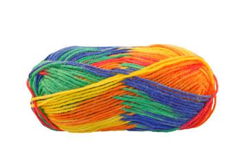 Regenbogen-Wolle