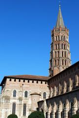 Le clocher de la cathédrale de Saint Sernin