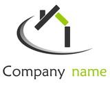 Logo maison vert