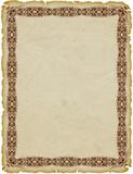Pergamena Cornice-Parchemin Cadre-Parchment Frame 2 poster