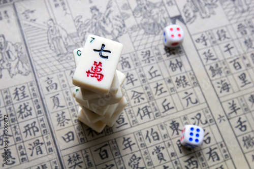 Mahjong - asian game