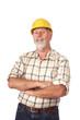 Portrait of a builder
