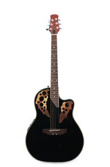 Electric-acoustic guitar