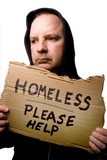 Homeless Man poster