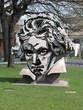 Leinwanddruck Bild - Beethovendenkmal Bonn