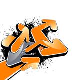 Fototapety zeichen modern graffiti