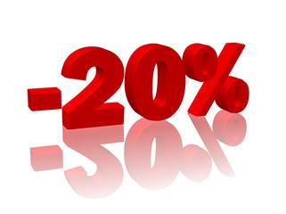 """-20%"""