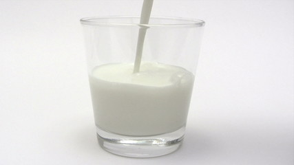 Having a Glass of Milk