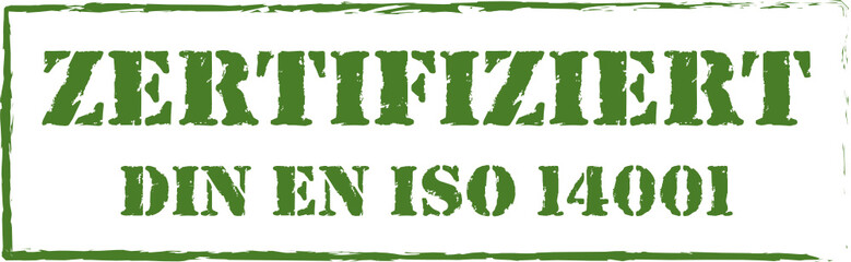 Stempel DIN 14001
