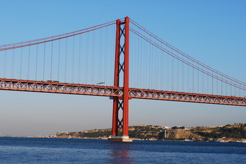 Lisbon Bridge - 'April 25th', Old 'Salazar Bridge', Portugal