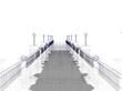 Quadro Ponte, costruzione