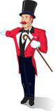 Circus Announcer poster