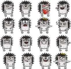 Funny hedgehogs 3