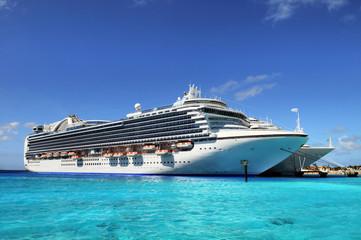 Cruise Ships Anchored in Grand Turk Island