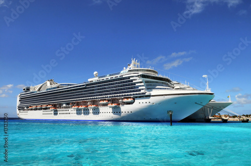 Cruise Ships Anchored in Grand Turk Island - 13123250