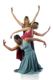 Beautiful Dancers performing together poster