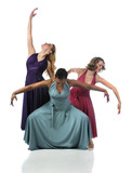 Three Dancers Performing poster
