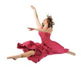 Dancer Performing Jump poster