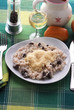 Risotto al vino bianco e fegato d oca con formaggio grana