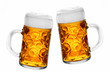 Leinwanddruck Bild - Biergrüge
