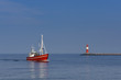 Fototapete Ostsee - Horizont - Hafen
