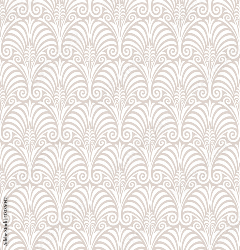 Seamless Floral Wallpaper - 13135042