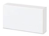 white mock-up poster