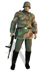 German soldier WWII