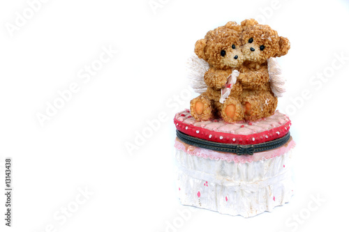 Teddy Couple Box