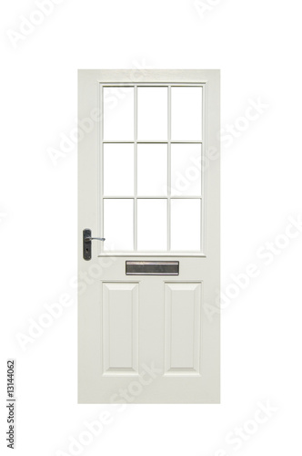 isolated front door