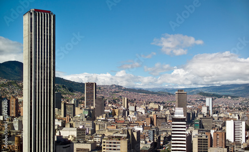 Panoramic view of Bogota, Colombia