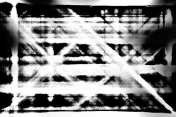 Black & White grunge background - digital animation