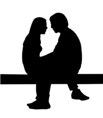 innamorati (vettoriale)