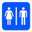 cartello wc