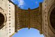 arco di trionfo del imperatore Settimio Severo a Roma in Italia