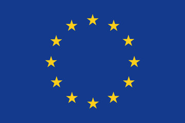 official flag of european union