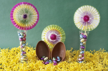 Easter fiesta in glass!