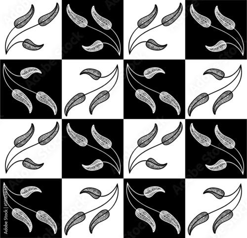 Black And White Checkered Pattern - Rcs Italia | Ricerca