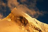 Sunset in Himalaya poster